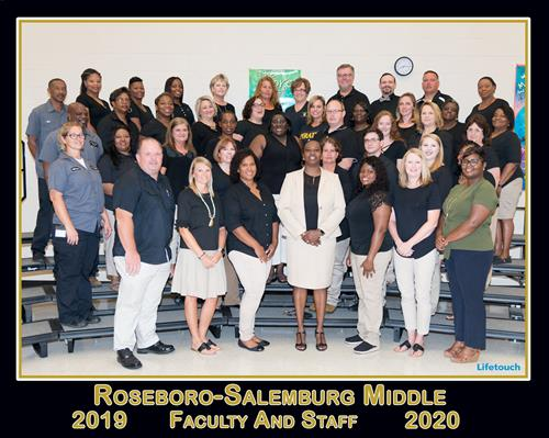 Roseboro-Salemburg Middle Faculty and Staff