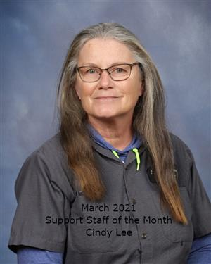 Support Staff of the Month