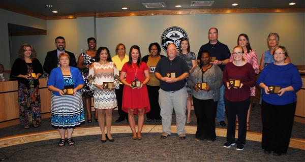 School Representatives Honored