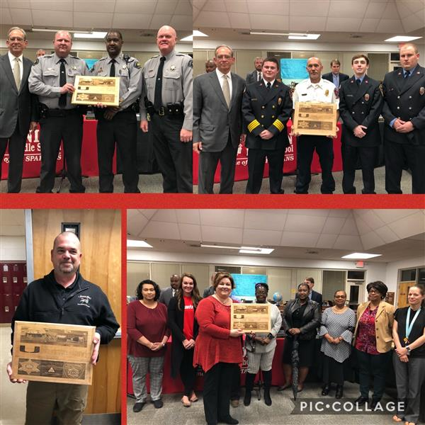The Board expressed appreciation to Union Intermediate Staff, Sampson County Emergency Management, Taylors Bridge Fire Department and Sampson County Sheriff's Department for their quick response and tremendous help during January's storm damage.