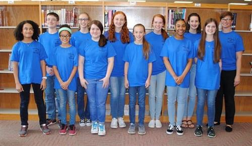 2018-2019 Battle of the Books Team