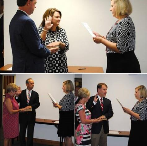 Board takes Oath of Office
